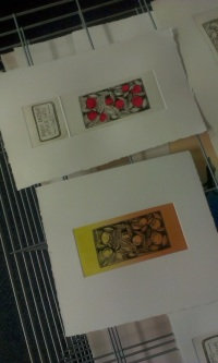 Iwona's drypoint multiplate print - open access
